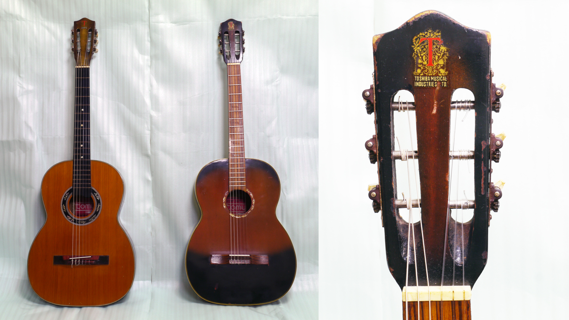東芝音楽産業製作のギターについて