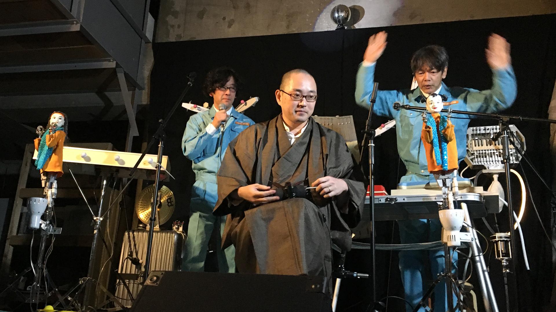 明和電機さんで不思議な楽器を見ました!